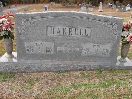 HARRELL, PAUL - Woodruff County, Arkansas | PAUL HARRELL - Arkansas Gravestone Photos