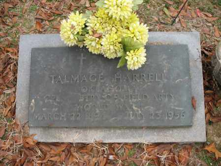 HARRELL (VETERAN WWI), TALMADGE - Woodruff County, Arkansas | TALMADGE HARRELL (VETERAN WWI) - Arkansas Gravestone Photos