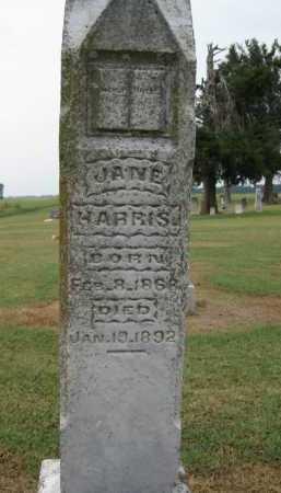 HARRIS, JANE - Woodruff County, Arkansas   JANE HARRIS - Arkansas Gravestone Photos