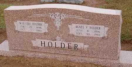 HOLDER, AGNES V. - Woodruff County, Arkansas | AGNES V. HOLDER - Arkansas Gravestone Photos