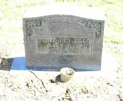 HOSTELLER, PRESLEY D. - Woodruff County, Arkansas | PRESLEY D. HOSTELLER - Arkansas Gravestone Photos
