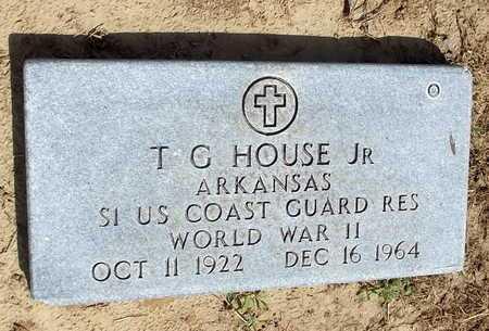 HOUSE, JR  (VETERAN WWII), T G - Woodruff County, Arkansas   T G HOUSE, JR  (VETERAN WWII) - Arkansas Gravestone Photos
