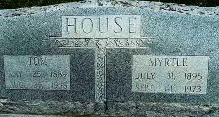 HOUSE, MYRTLE - Woodruff County, Arkansas | MYRTLE HOUSE - Arkansas Gravestone Photos