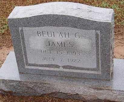 JAMES, BEULAH G. - Woodruff County, Arkansas | BEULAH G. JAMES - Arkansas Gravestone Photos