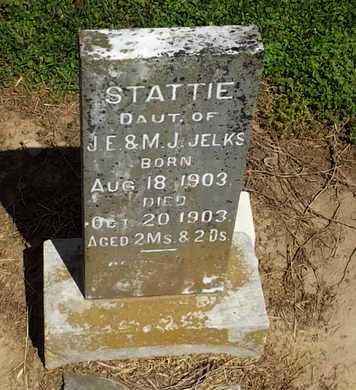 JELKS, STATTIE - Woodruff County, Arkansas | STATTIE JELKS - Arkansas Gravestone Photos