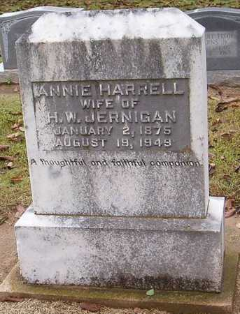 HARRELL JERNIGAN, ANNIE - Woodruff County, Arkansas | ANNIE HARRELL JERNIGAN - Arkansas Gravestone Photos