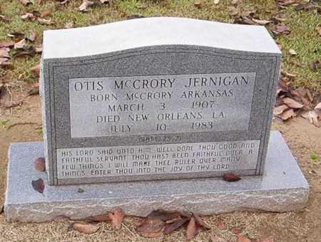 JERNIGAN, OTIS MCCRORY - Woodruff County, Arkansas | OTIS MCCRORY JERNIGAN - Arkansas Gravestone Photos