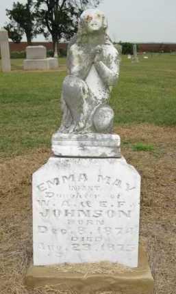JOHNSON, EMMA MAY - Woodruff County, Arkansas   EMMA MAY JOHNSON - Arkansas Gravestone Photos