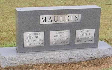 MAULDIN, MAUDE G. - Woodruff County, Arkansas | MAUDE G. MAULDIN - Arkansas Gravestone Photos