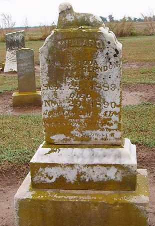 MCCLENDON, MILLARD - Woodruff County, Arkansas | MILLARD MCCLENDON - Arkansas Gravestone Photos