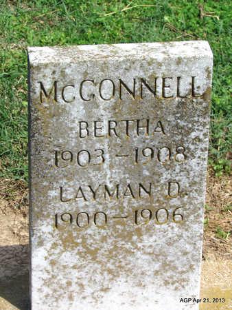 MCCONNELL, LAYMAN D. - Woodruff County, Arkansas | LAYMAN D. MCCONNELL - Arkansas Gravestone Photos