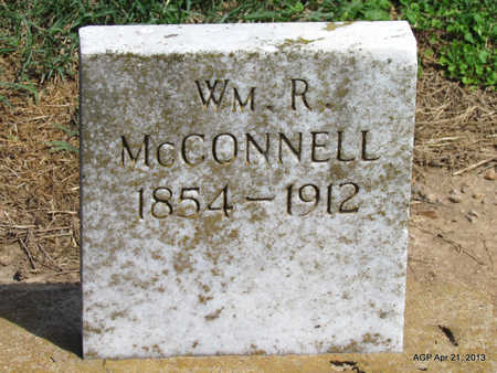 MCCONNELL, WILLIAM R. - Woodruff County, Arkansas   WILLIAM R. MCCONNELL - Arkansas Gravestone Photos
