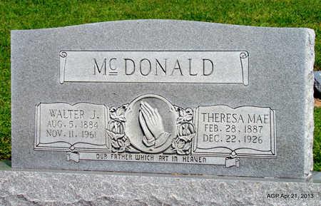 MCDONALD, THERESA MAE - Woodruff County, Arkansas | THERESA MAE MCDONALD - Arkansas Gravestone Photos