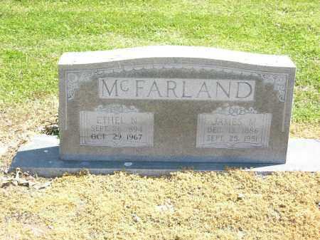 MCFARLAND, ETHEL N. - Woodruff County, Arkansas | ETHEL N. MCFARLAND - Arkansas Gravestone Photos