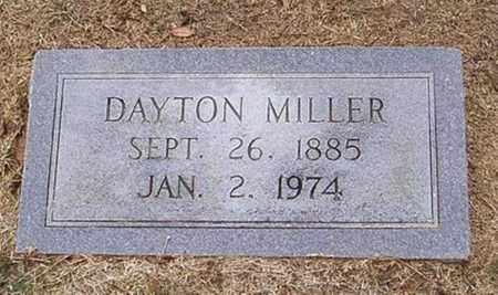 MILLER, DAYTON - Woodruff County, Arkansas | DAYTON MILLER - Arkansas Gravestone Photos