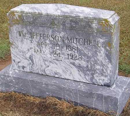 MITCHELL, WILLIAM JEFFERSON - Woodruff County, Arkansas   WILLIAM JEFFERSON MITCHELL - Arkansas Gravestone Photos