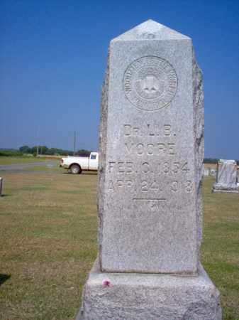 MOORE, DR., L B - Woodruff County, Arkansas | L B MOORE, DR. - Arkansas Gravestone Photos