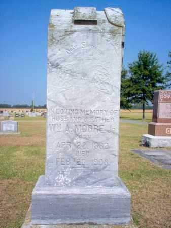 MOORE, JR., WILLIAM A - Woodruff County, Arkansas   WILLIAM A MOORE, JR. - Arkansas Gravestone Photos