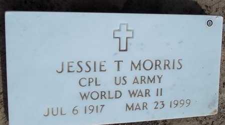 MORRIS  (VETERAN WWII), JESSIE T - Woodruff County, Arkansas | JESSIE T MORRIS  (VETERAN WWII) - Arkansas Gravestone Photos