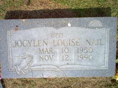 NAIL, JOCYLEN LOUISE - Woodruff County, Arkansas | JOCYLEN LOUISE NAIL - Arkansas Gravestone Photos