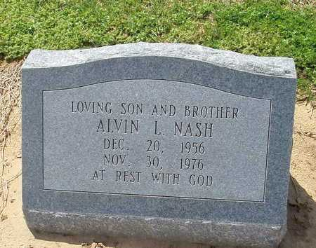 NASH, ALVIN L. - Woodruff County, Arkansas | ALVIN L. NASH - Arkansas Gravestone Photos
