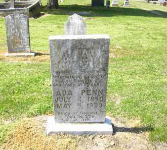 PENN, ADA - Woodruff County, Arkansas   ADA PENN - Arkansas Gravestone Photos