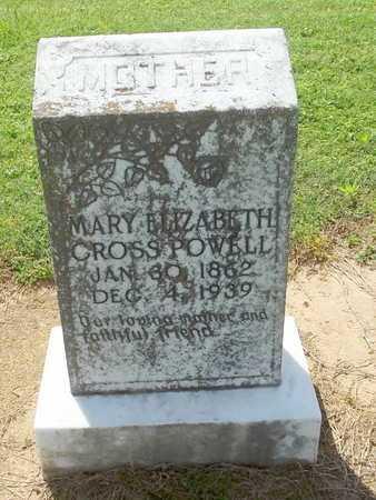 POWELL, MARY ELIZABETH - Woodruff County, Arkansas   MARY ELIZABETH POWELL - Arkansas Gravestone Photos
