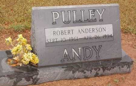 """PULLEY, ROBERT ANDERSON """"ANDY"""" - Woodruff County, Arkansas 