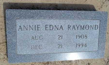 RAYMOND, ANNIE EDNA - Woodruff County, Arkansas | ANNIE EDNA RAYMOND - Arkansas Gravestone Photos