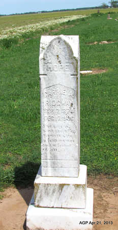 RIDGWAY, CARRIE A. - Woodruff County, Arkansas | CARRIE A. RIDGWAY - Arkansas Gravestone Photos