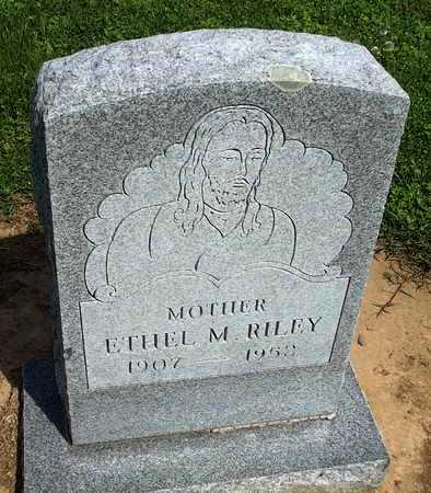 RILEY, ETHEL M. - Woodruff County, Arkansas | ETHEL M. RILEY - Arkansas Gravestone Photos