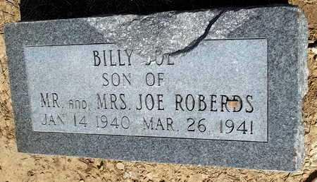 ROBERDS, BILLY JOE - Woodruff County, Arkansas | BILLY JOE ROBERDS - Arkansas Gravestone Photos