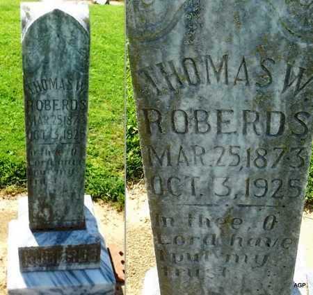 ROBERDS, THOMAS W - Woodruff County, Arkansas | THOMAS W ROBERDS - Arkansas Gravestone Photos