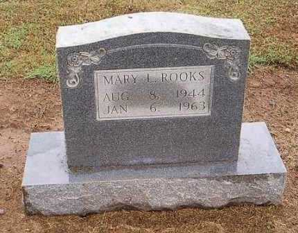 ROOKS, MARY L. - Woodruff County, Arkansas   MARY L. ROOKS - Arkansas Gravestone Photos