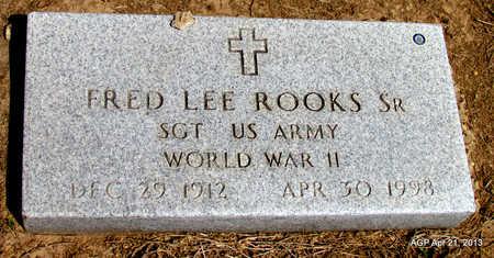 ROOKS, SR  (VETERAN WWII), FRED LEE - Woodruff County, Arkansas | FRED LEE ROOKS, SR  (VETERAN WWII) - Arkansas Gravestone Photos