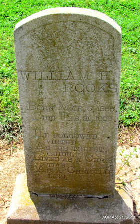 ROOKS, WILLIAM H. - Woodruff County, Arkansas | WILLIAM H. ROOKS - Arkansas Gravestone Photos