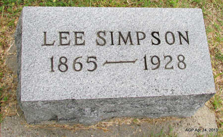 SIMPSON, LEE - Woodruff County, Arkansas | LEE SIMPSON - Arkansas Gravestone Photos