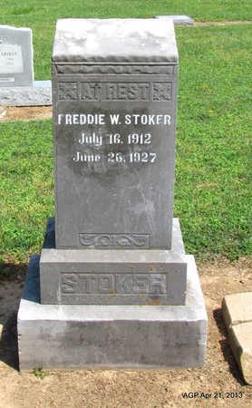 STOKER, FREDDIE W. - Woodruff County, Arkansas | FREDDIE W. STOKER - Arkansas Gravestone Photos