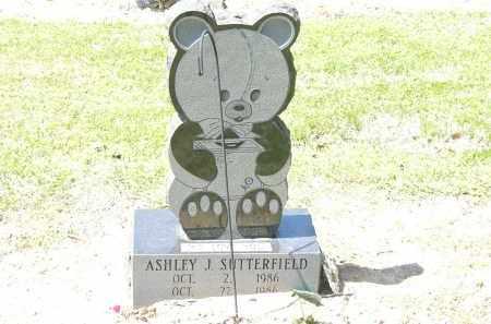 SUTTERFIELD, ASHLEY  J. - Woodruff County, Arkansas | ASHLEY  J. SUTTERFIELD - Arkansas Gravestone Photos