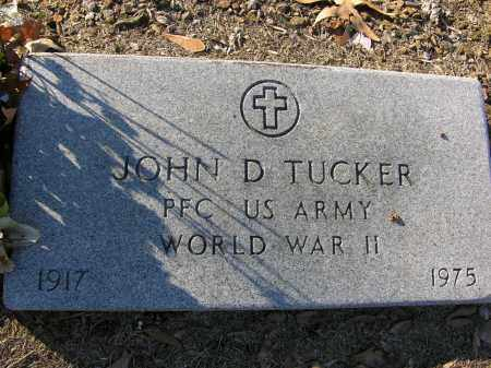 TUCKER (VETERAN WWII), JOHN D - Woodruff County, Arkansas | JOHN D TUCKER (VETERAN WWII) - Arkansas Gravestone Photos