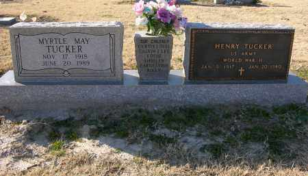 TUCKER (VETERAN WWII), HENRY - Woodruff County, Arkansas | HENRY TUCKER (VETERAN WWII) - Arkansas Gravestone Photos