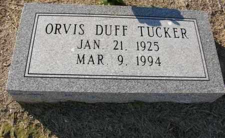 TUCKER, ORVIS - Woodruff County, Arkansas | ORVIS TUCKER - Arkansas Gravestone Photos