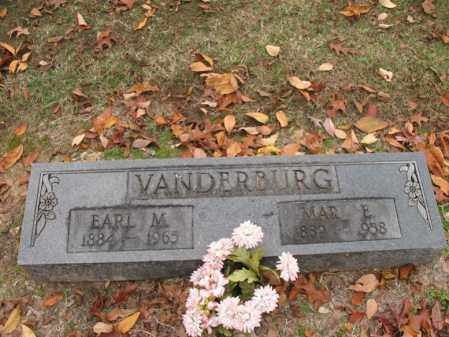 VANDERBURG, MARY ELIZABETH - Woodruff County, Arkansas | MARY ELIZABETH VANDERBURG - Arkansas Gravestone Photos
