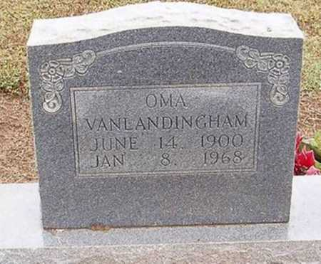 VANLANDINGHAM, OMA - Woodruff County, Arkansas   OMA VANLANDINGHAM - Arkansas Gravestone Photos