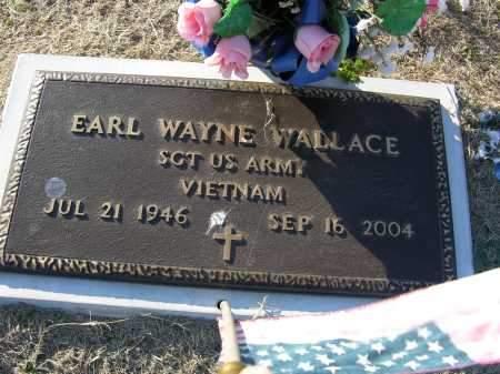 WALLACE (VETERAN VIET), EARL  WAYNE - Woodruff County, Arkansas | EARL  WAYNE WALLACE (VETERAN VIET) - Arkansas Gravestone Photos