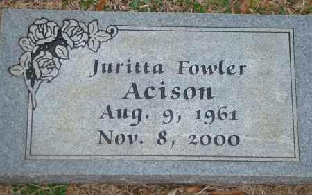 ACISON, JURITTA - Yell County, Arkansas | JURITTA ACISON - Arkansas Gravestone Photos