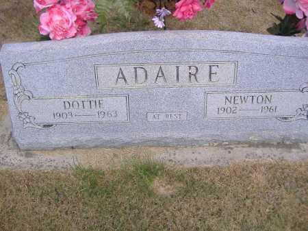 ADAIRE, ISAAC NEWTON - Yell County, Arkansas   ISAAC NEWTON ADAIRE - Arkansas Gravestone Photos
