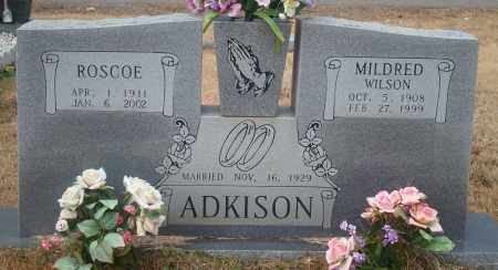 ADKINSON, MILDRED - Yell County, Arkansas | MILDRED ADKINSON - Arkansas Gravestone Photos