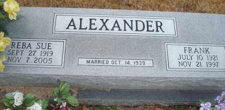ALEXANDER, FRANK - Yell County, Arkansas | FRANK ALEXANDER - Arkansas Gravestone Photos