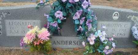 ANDERSON, DOROTHY C - Yell County, Arkansas | DOROTHY C ANDERSON - Arkansas Gravestone Photos
